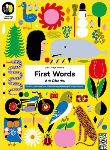 First Words Art Charts