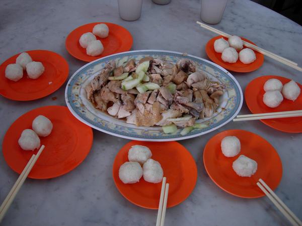 出名的海南鸡饭粒~~