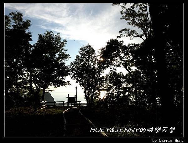 20130719_15知床野營場夕陽台01