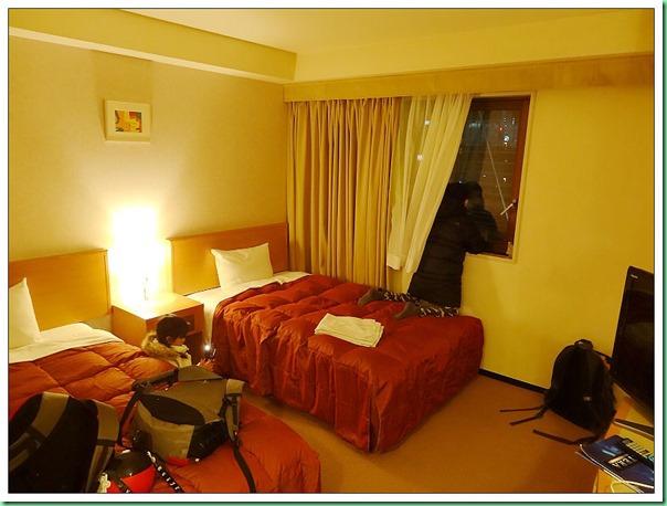 20140122_19 轉車抵達上野Sardonyx飯店 004b