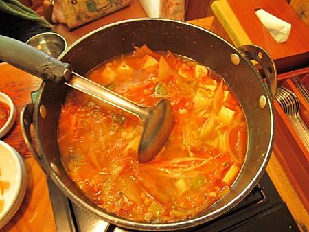又是泡菜鍋