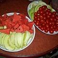 新鮮水果拼盤