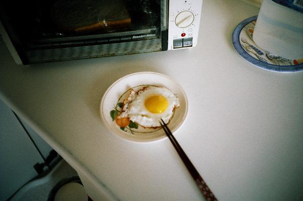 早餐  最喜歡的荷包蛋狀態