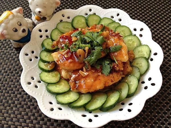 1-----梅汁龍膽石斑魚片