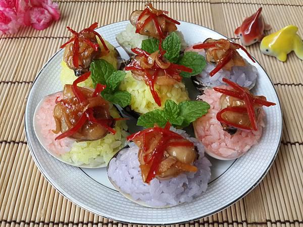 1---蛤蜊彩米飯