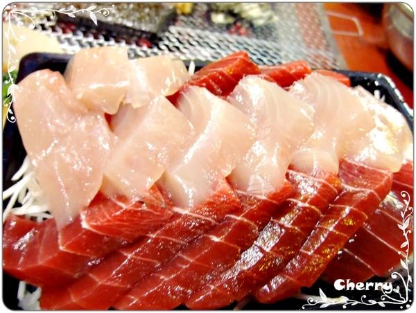油脂超豐富的生魚片