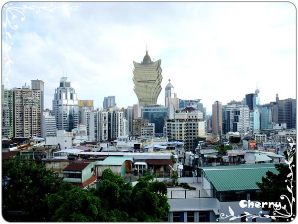 從大炮台看出的市景