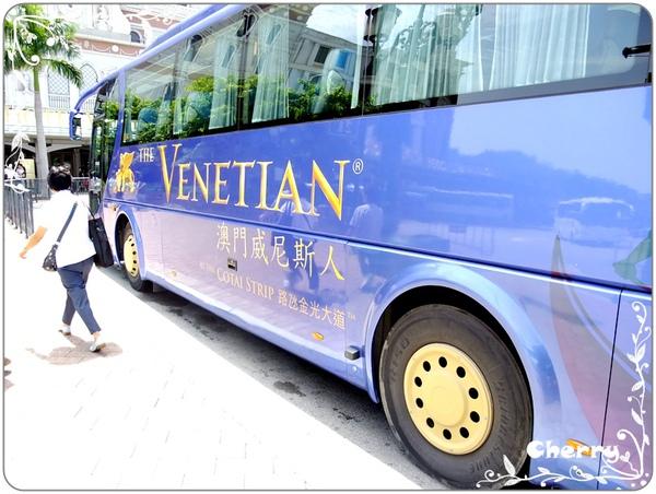 這就是威尼斯人的免費接駁車