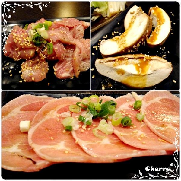 豬肉類和香菇