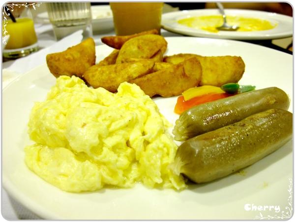 美式早餐-德國香腸