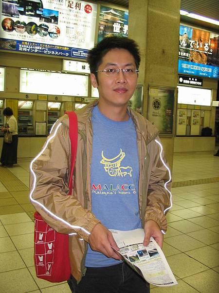 傻蛋在成田機場(2005.9.29)