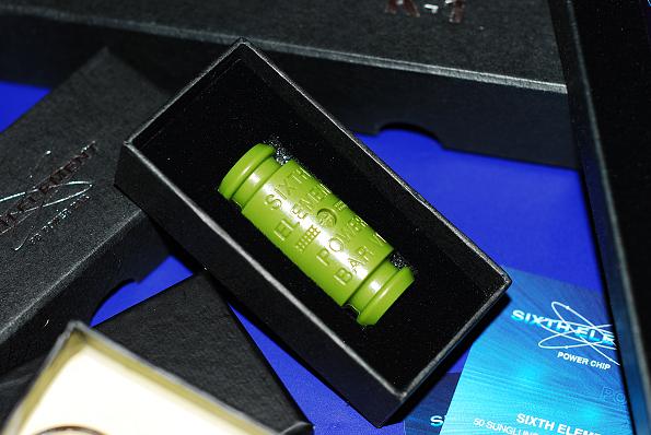 第六元素電集棒綠色V1超級版