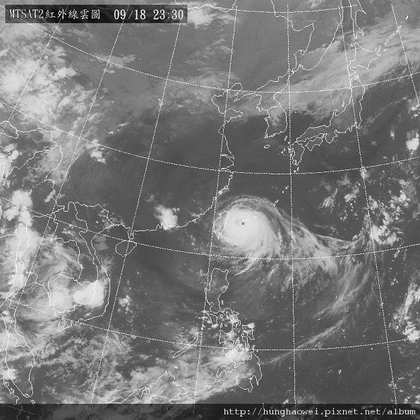 2010凡那比颱風黑白