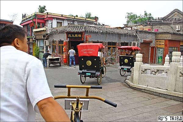 [旅記-中國大陸|北京] 什剎海。三輪車遊胡同。