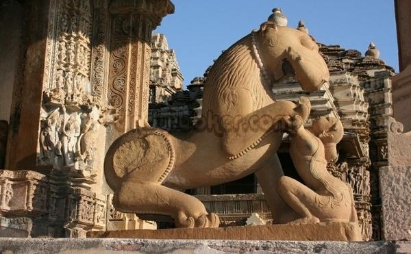 印度卡修拉霍性廟5