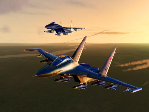 天際飛龍 ~ 蘇凱30戰機1