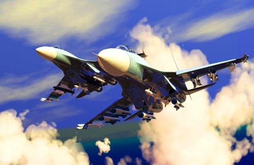 天際飛龍 ~ 蘇凱30戰機2