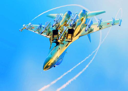 天際飛龍 ~ 蘇凱30戰機3
