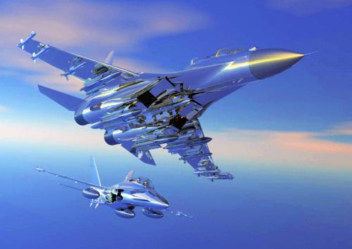 天際飛龍 ~ 蘇凱30戰機4