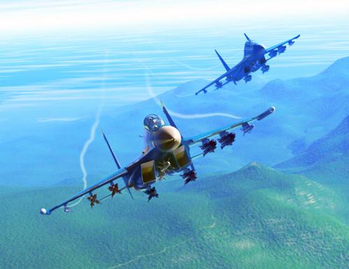 天際飛龍 ~ 蘇凱30戰機5