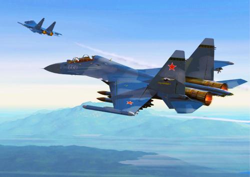 天際飛龍 ~ 蘇凱30戰機7