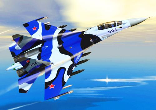天際飛龍 ~ 蘇凱30戰機8