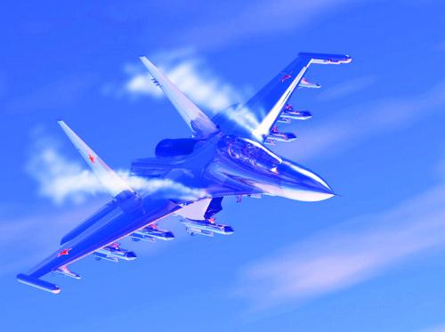 天際飛龍 ~ 蘇凱30戰機9