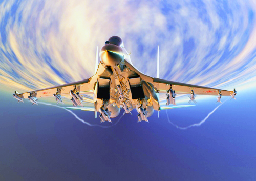 天際飛龍 ~ 蘇凱30戰機10