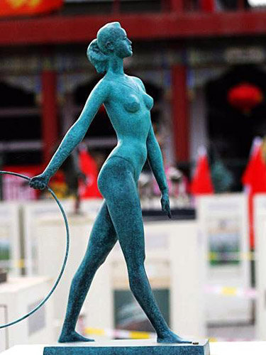 2008 北京奧運景觀雕塑 3
