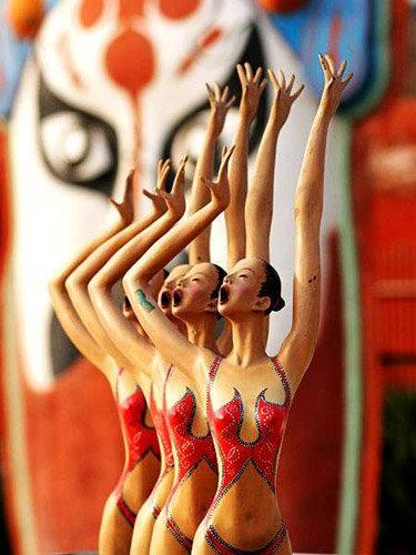 2008 北京奧運景觀雕塑 4