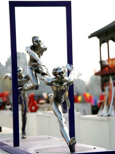 2008 北京奧運景觀雕塑 9