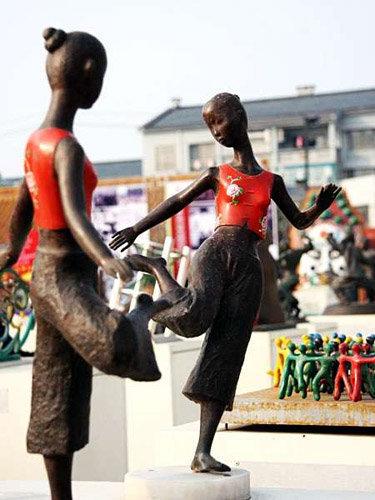 2008 北京奧運景觀雕塑 10