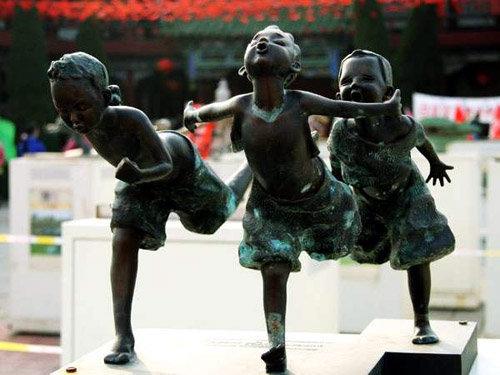 2008 北京奧運景觀雕塑 12