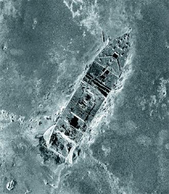 鐵達尼號殘骸