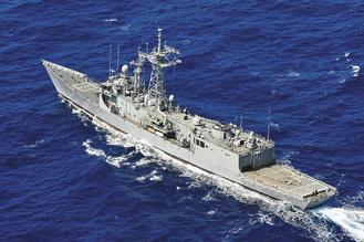 派里級巡防艦