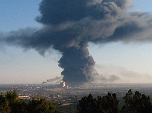 德州化肥廠爆炸