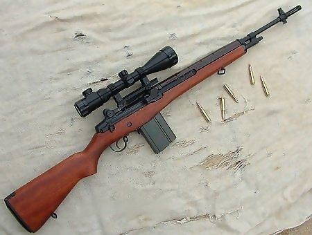 M-14步槍,M-21狙擊槍