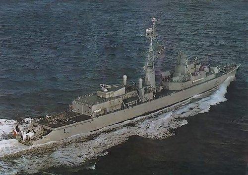 (法) 圖爾維爾級F67型驅逐艦