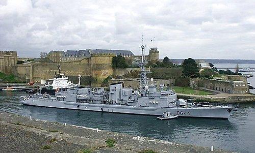 (法) D644 飛彈驅逐艦