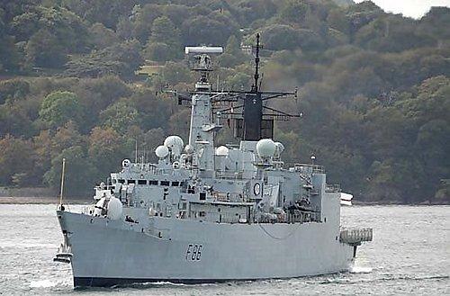 (英) 22型大刀级通用攔截艦