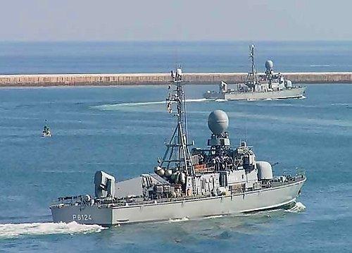 (德) 143型、143A型導彈艦艇