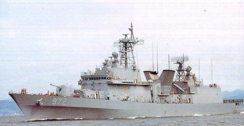 (韓) 伊支文德號驅逐艦