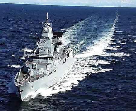 """(德)""""撒克遜""""級F124型防空護航艦"""