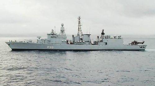 (德) 埃姆登號122级導彈攔截艦