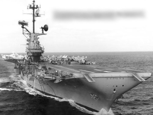 """1964年""""好人李查德""""號航空母艦"""