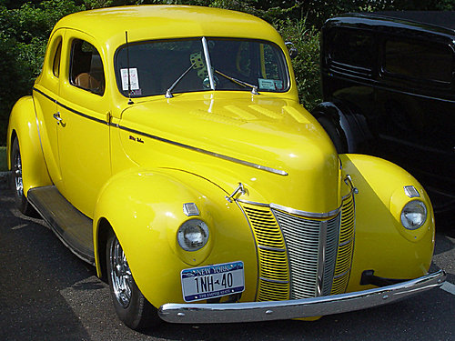 1940 Ford Yellow