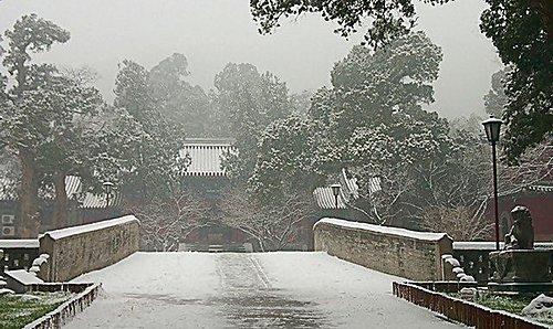 雪景 - 北京大覺寺