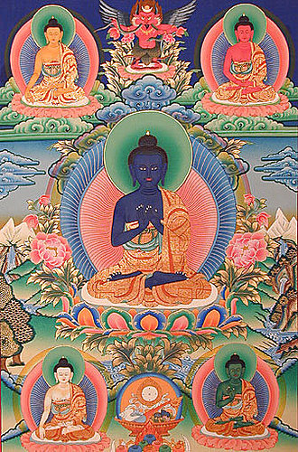 五智如來 (The Five Dhyani Buddhas)