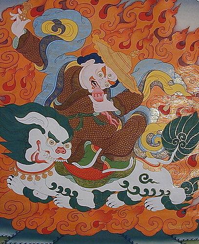 金剛善護法 (Dorje Legpa)