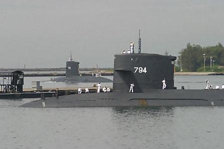 (臺灣) 海虎號常規潛艦